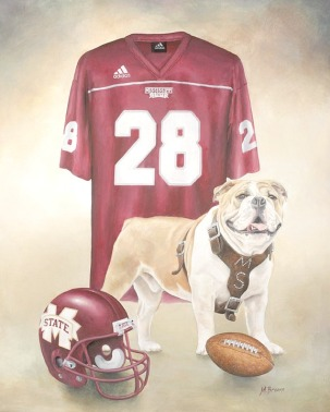 Bully the mascot of Mississippi State University 3