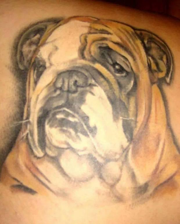 Bulldog Tattoos – Baggy Bulldogs