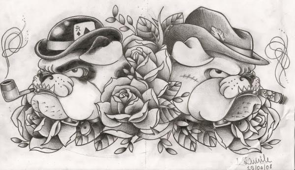 bulldog tattoos baggy bulldogs rh baggybulldogs wordpress com bull tattoo designs french bulldog tattoo designs